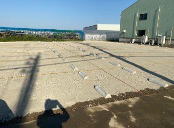 愛知県一宮市 砕石駐車場工事 造成 改良