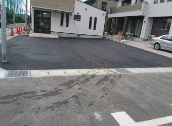 愛知県江南市 店舗駐車場 舗装工事