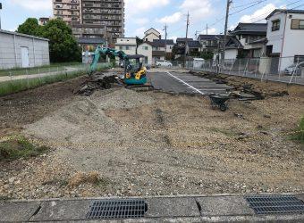 駐車場解体工事 造成工事