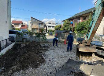 愛知県名古屋市 駐車場解体工事