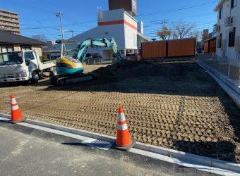 名古屋市中川区 砕石駐車場整備工事
