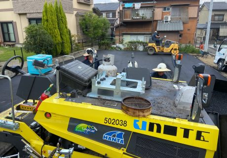 名古屋市 駐車場舗装工事